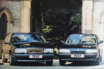 Volvo 850 vs. Rover 827 - Dubbeltest - Uit de Oude Doos