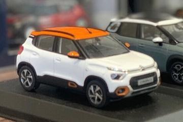 'Goedkopere' Citroën C3 duikt op als schaalmodel