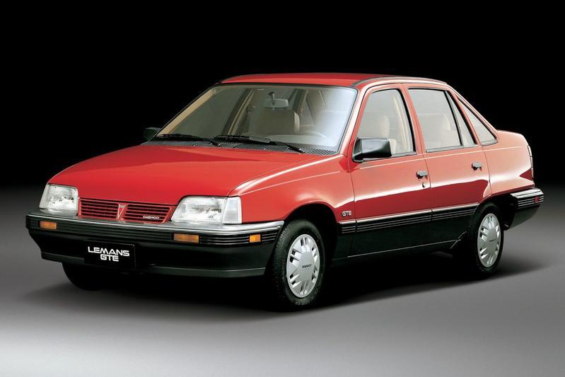 De Tweeling Opel Kadett - Daewoo Pontiac Chevrolet
