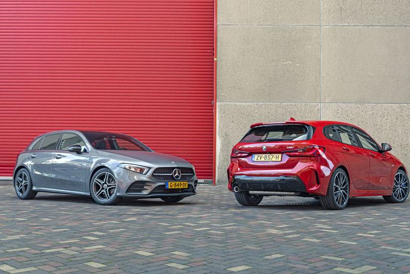 BMW 1-serie Mercedes-Benz A-klasse