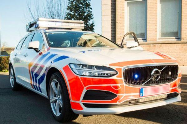 Federale politie aan Volvo