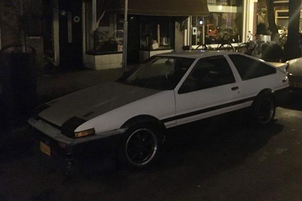 In het Wild: Toyota Sprinter Trueno (AE86)
