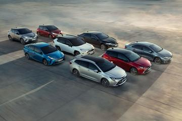 15 miljoen hybrides van Toyota en Lexus