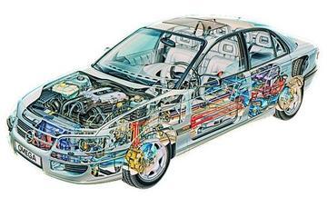 Doorkijk: Opel Omega (1994)