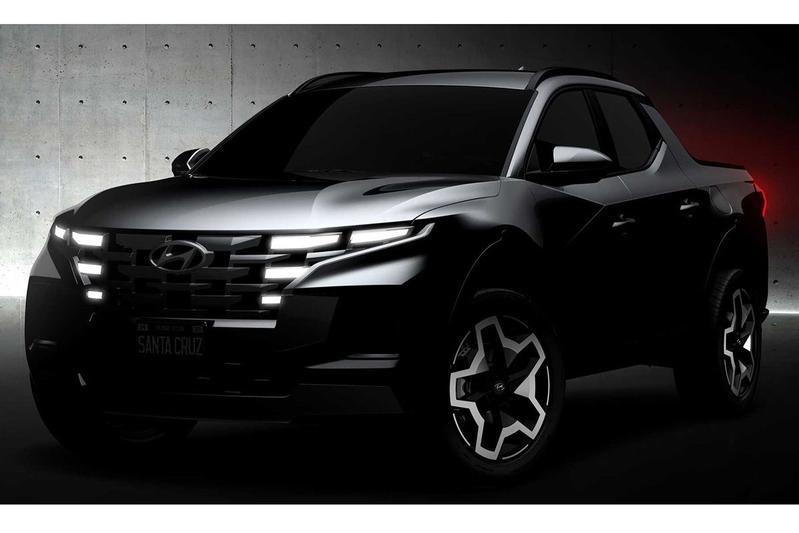 Hyundai Santa Cruz teasers