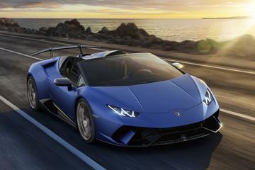 Lamborghini Huracán Performante Spyder onketekend