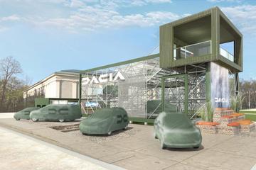 Dacia neemt nieuwe zevenzitter mee naar IAA