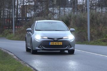 Toyota Corolla - Achteruitkijkspiegel