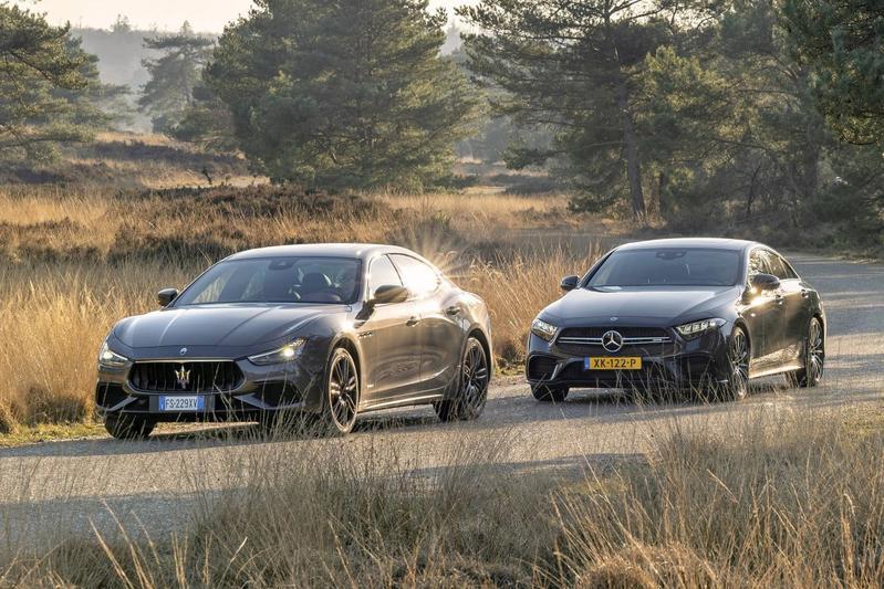 Maserati Ghibli S Q4 - Mercedes-AMG CLS53 - Dubbeltest