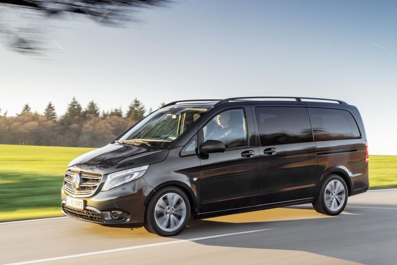 Mercedes-Benz Vito en eVito Tourer facelift