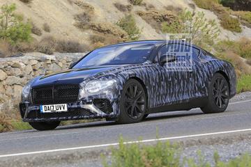 Nieuwe Bentley Continental GT in beeld verschenen