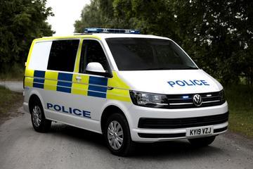 Volkswagen Transporter voor arrestantenvervoer