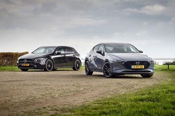 Mazda 3 Skyactiv-X 180 - Mercedes-Benz A200 - Dubbeltest