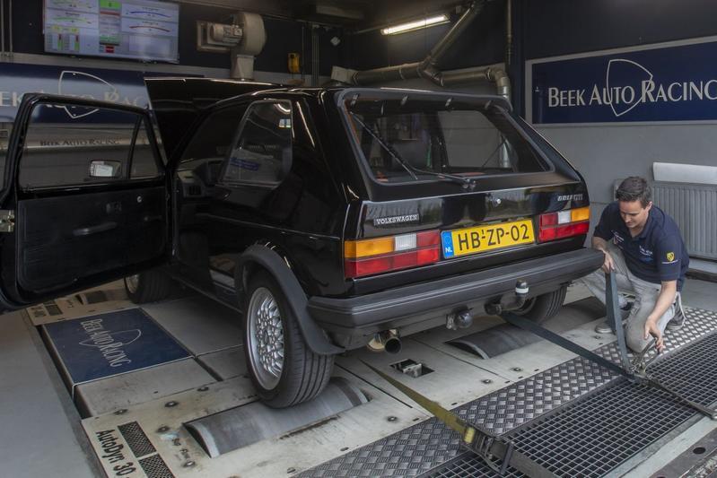 Volkswagen Golf GTI - Op de Rollenbank
