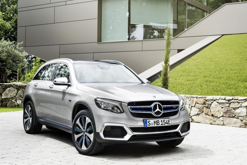Zonder plakkers: Mercedes-Benz GLC F-Cell