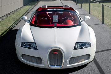 Aller- allerlaatste Bugatti Veyron in Genève