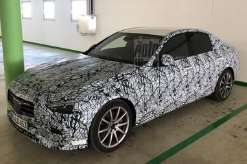 Nieuwe Mercedes-Benz C-klasse van dichtbij