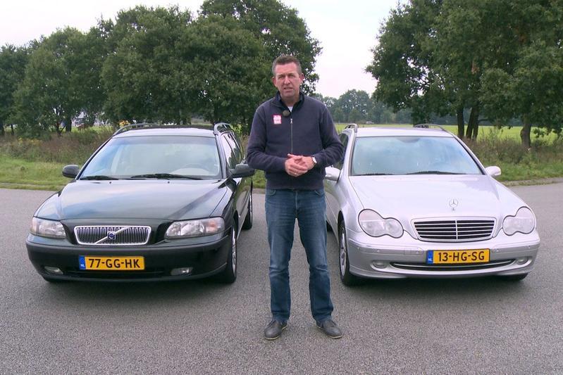 Dubbeltest - Volvo V70 vs. Mercedes-Benz C200