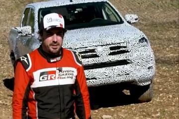 Nieuwe Toyota Hilux op pad