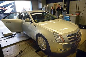 Op de rollenbank - Cadillac CTS
