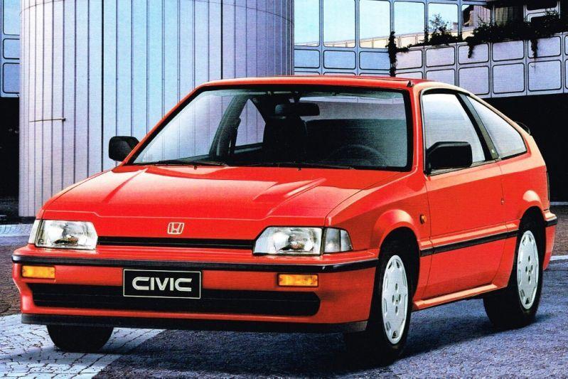 Honda Civic CRX Coupé 1.6i 16V (1987)