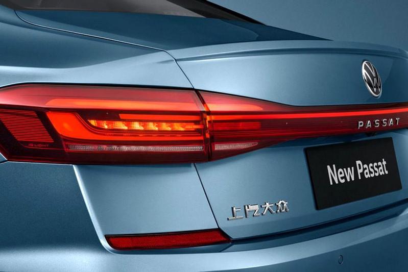 Volkswagen Passat facelift (China)