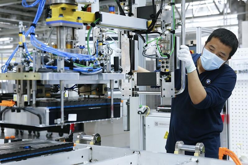 BMW fabriek Tiexi batterij China