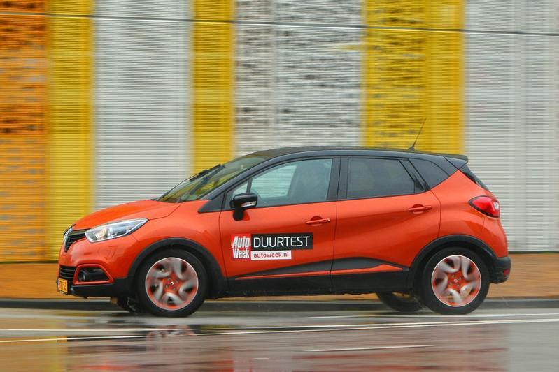 Afscheid duurtest - Renault Captur TCE 120