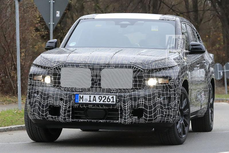 Spyshots BMW X8