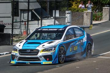 Subaru WRX STI breekt record Isle of Man