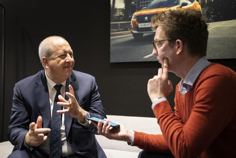 Jean-Pierre Imparato Peugeot CEO