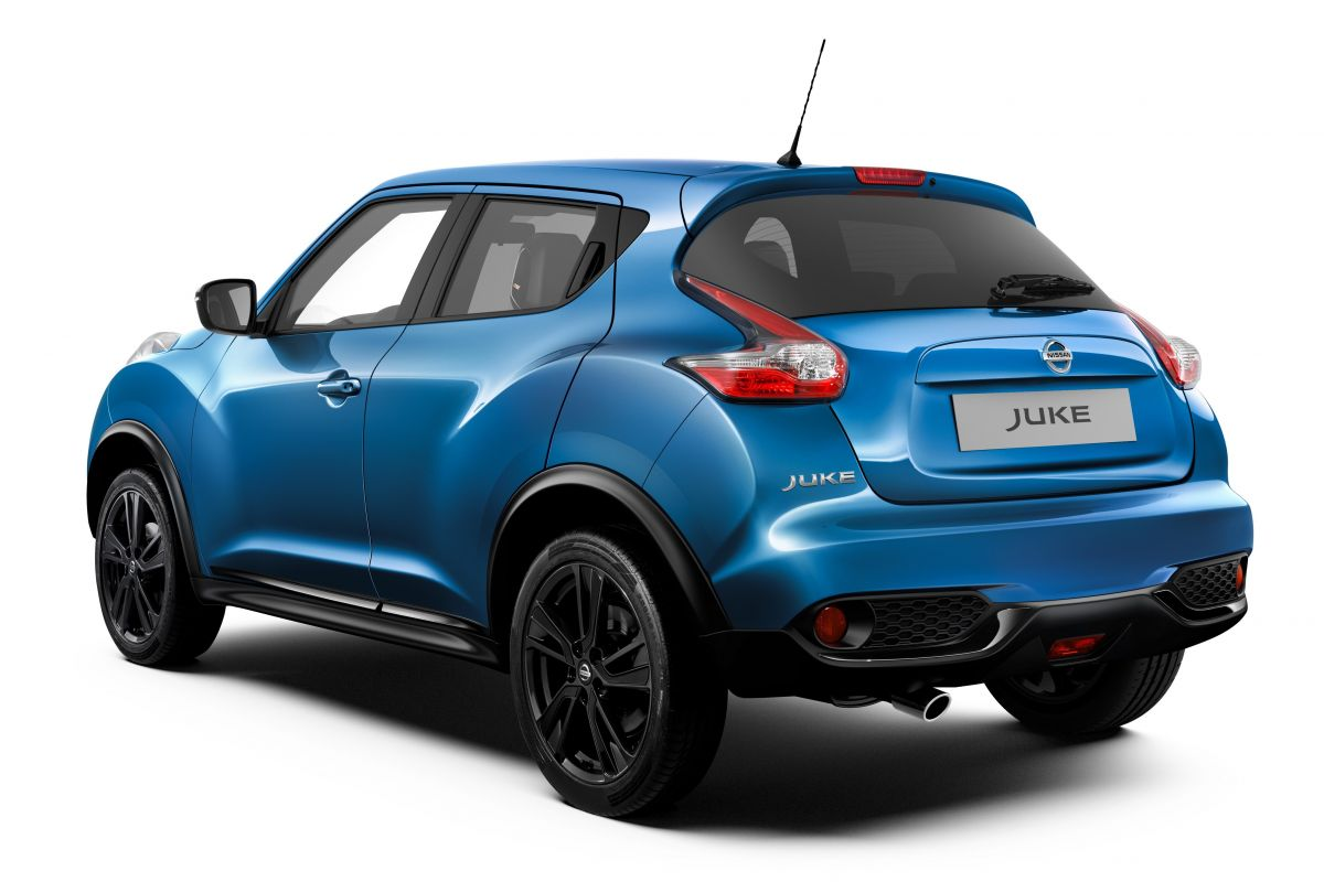 kleine facelift voor nissan juke autonieuws. Black Bedroom Furniture Sets. Home Design Ideas