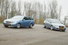 Audi A6 2.0 Avant - Mercedes E200 Estate - Occasiontest