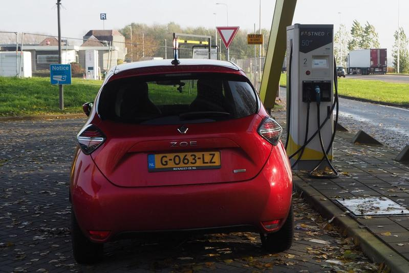 EV laadpaal Fastned snellader