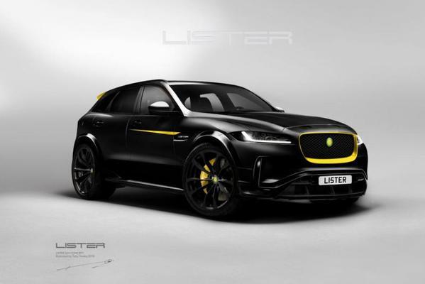 Lister blikt vooruit op heftige Jaguar F-Pace