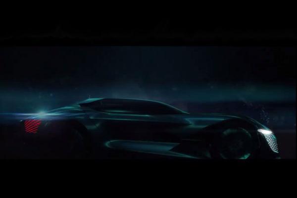 DS teast DS X E-Tense concept-car