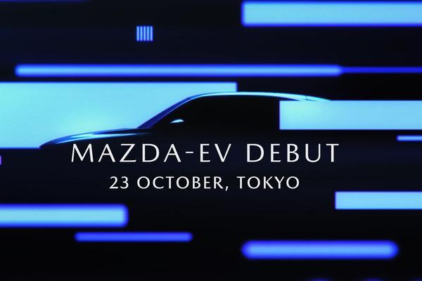 Mazda's EV wordt coupé-achtige SUV