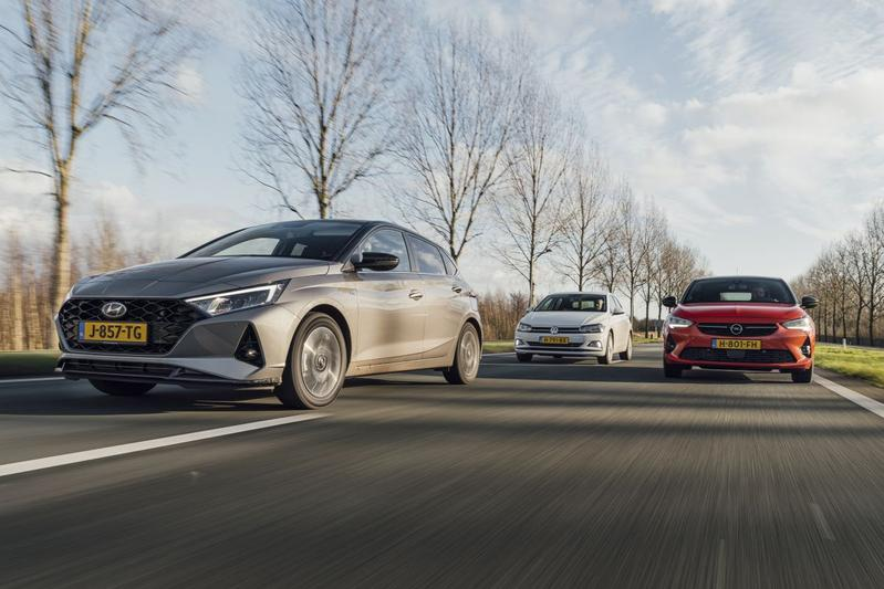 Test: Hyundai i20 vs. Opel Corsa vs. Volkswagen Polo
