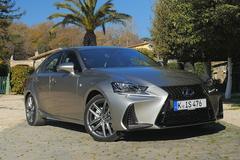 Lexus IS300h - Rij-impressie