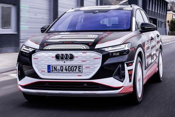 Audi Q4 e-tron al uitgebreid te bekijken