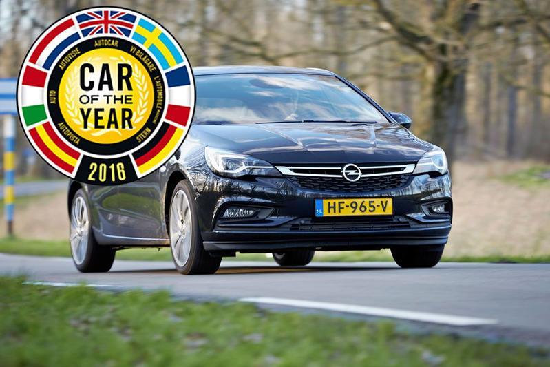 Opel Astra is Auto van het Jaar 2016!