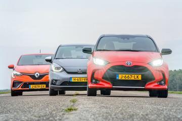 Honda Jazz – Renault Clio – Toyota Yaris - Triotest