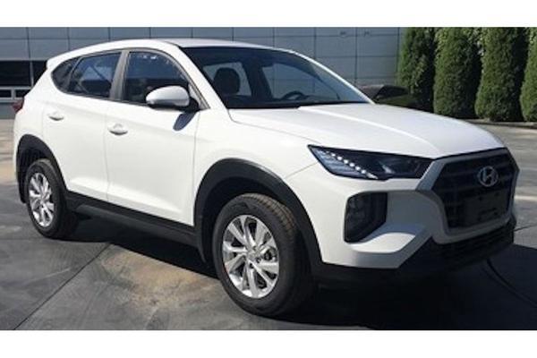 Merkwaardige facelift voor Hyundai Tucson