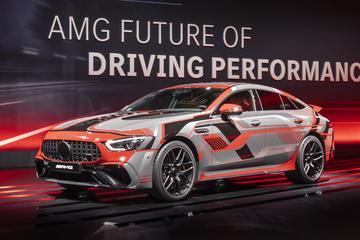 Mercedes-AMG belicht elektrificatieplannen