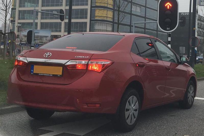 In het wild: Toyota Corolla Sedan