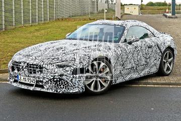 Mercedes-Benz SL opnieuw in beeld