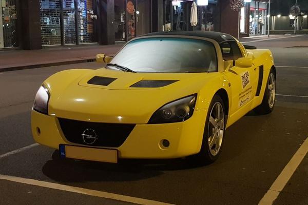 In het Wild: Opel Speedster (2002)