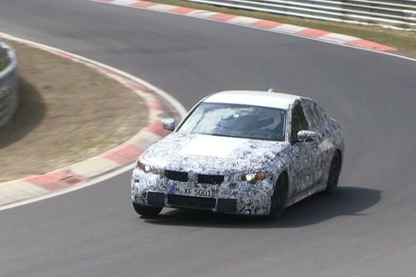 Video: BMW 3-serie (G20) - Spionage