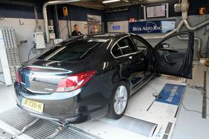 Opel Insignia 2.0 CDTi Biturbo - Op de Rollenbank