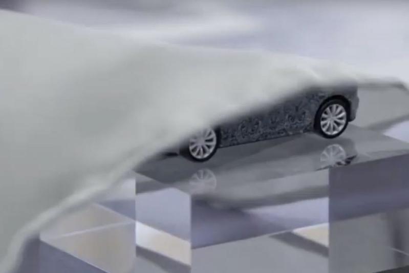 Jaguar teaser F-Type